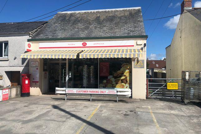 Thumbnail Retail premises for sale in 31 Par Green, Par, Cornwall