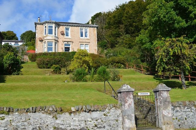 Thumbnail Flat for sale in North Campbell Road, Innellan, Argyll And Bute