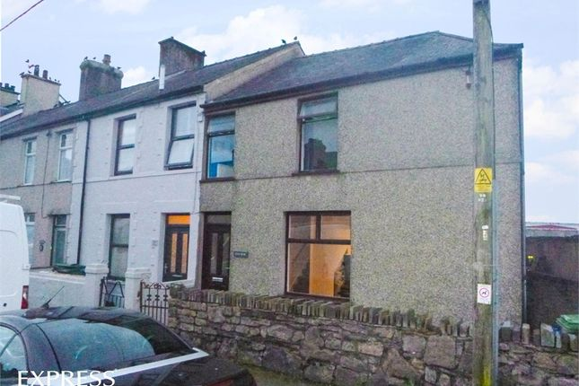 Thumbnail End terrace house for sale in County Road, Penygroes, Caernarfon, Gwynedd