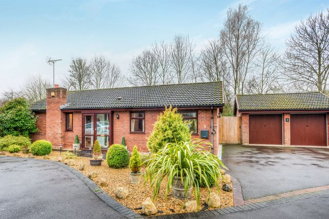 Thumbnail Detached bungalow for sale in Fairford Close, Church Hill North, Redditch
