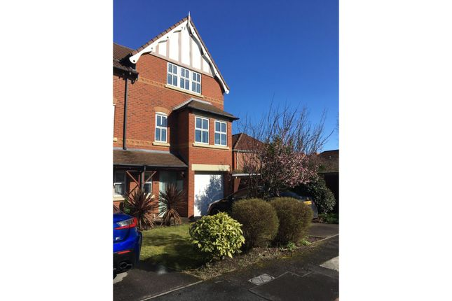 Thumbnail Town house to rent in Larton Farm Close, Wirral