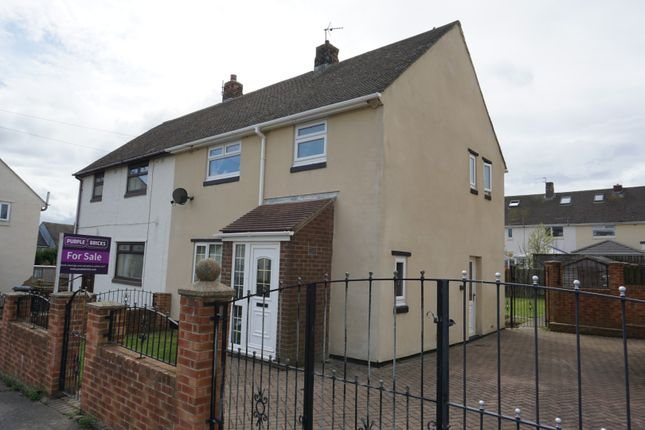 Thumbnail Semi-detached house for sale in Tate Avenue, Durham