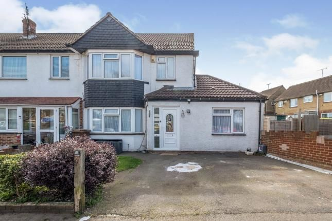 3 bed end terrace house for sale in Hilltop Road, Rochester, Kent, Uk ME2