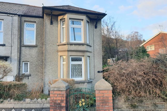 Thumbnail Semi-detached house for sale in Church Road, Cadoxton, Neath