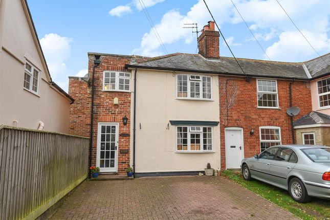 Thumbnail End terrace house for sale in Rectory Road, Newton, Sudbury