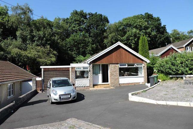 Thumbnail Detached bungalow for sale in Castle Drive, Cimla, Neath