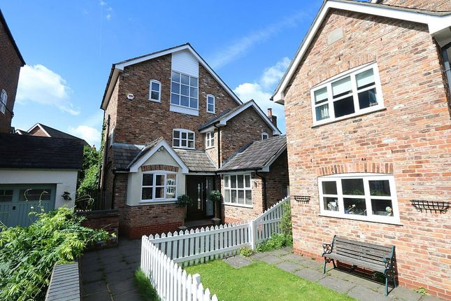 Thumbnail Detached house for sale in Hazelhurst Road, Worsley, Manchester, Greater Manchester