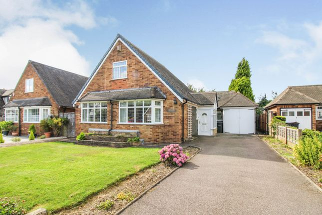 Thumbnail Detached bungalow for sale in Penns Wood Drive, Sutton Coldfield
