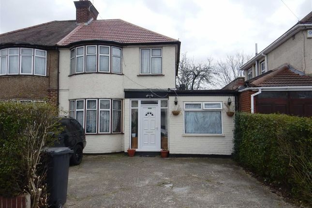 Thumbnail Semi-detached house for sale in Lady Margaret Road, Southall, Middlesex