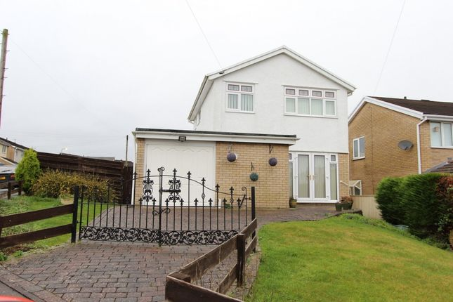 Thumbnail Detached house for sale in Highdale Close, Llantrisant -, Pontyclun