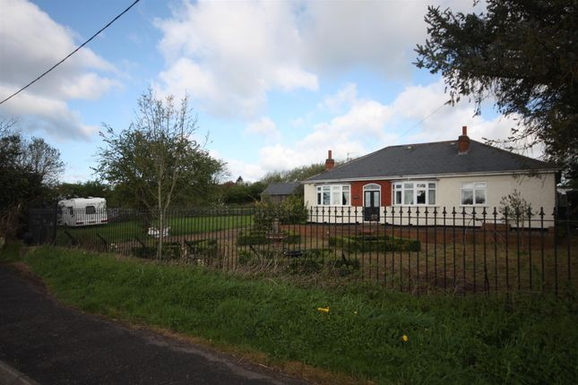 Thumbnail Detached bungalow for sale in Melton Road, Rearsby, Leicester