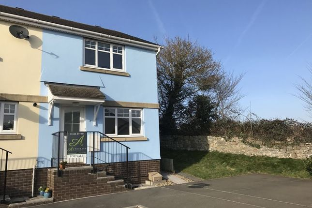 Thumbnail Terraced house for sale in Holly Close, Chudleigh, Newton Abbot