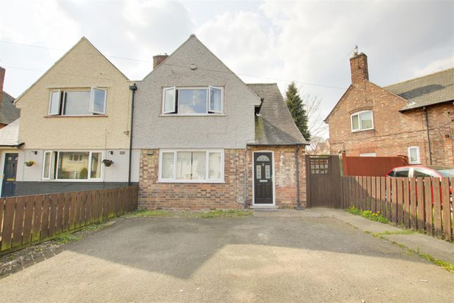 3 bed semi-detached house for sale in Montfort Crescent, Sherwood, Nottinghamshire NG5