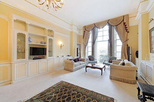 Thumbnail Flat for sale in Albert Hall Mansions, Kensington Gore, London