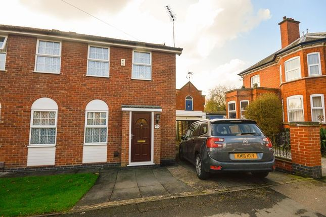 Thumbnail Semi-detached house for sale in Stadon Road, Leicester