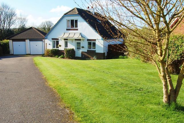 Thumbnail Detached house for sale in Goss Meadow, Bow, Crediton