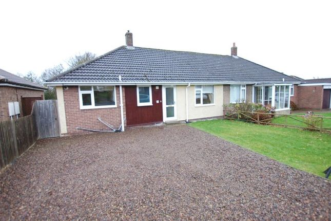 Thumbnail Semi-detached bungalow for sale in Trajan Walk, Heddon-On-The-Wall, Newcastle Upon Tyne