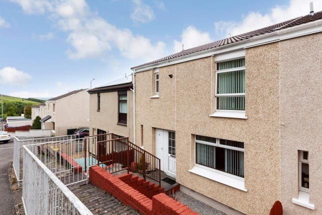 Thumbnail 3 bedroom terraced house for sale in Glen Kinglas Road, Greenock, Inverclyde