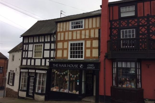 Thumbnail Flat to rent in The Square, Bromyard, Herefordshire