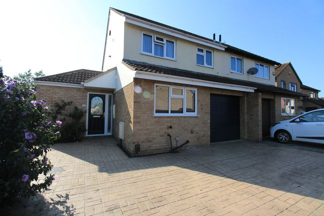 Thumbnail Semi-detached house for sale in Ferndale Close, Gloucester