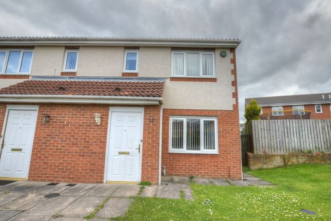 Thumbnail End terrace house to rent in Redewood Close, Redewood Park, Newcastle Upon Tyne