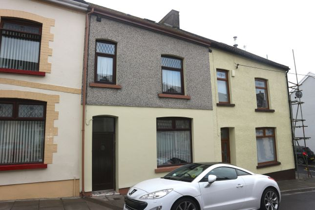 Thumbnail Terraced house for sale in Gwladys Street, Pant, Merthyr Tydfil