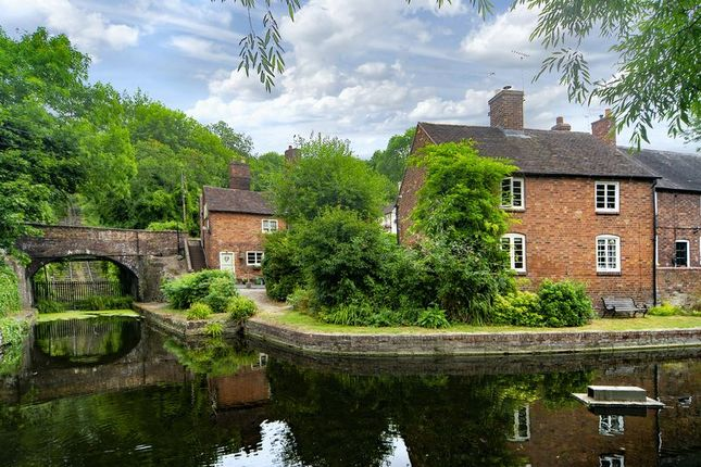 Thumbnail End terrace house for sale in High Street, Coalport, Shropshire.