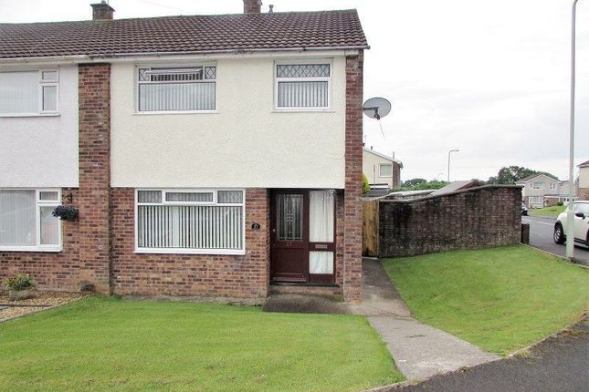 Thumbnail Semi-detached house to rent in Nant Ffornwg, Bryntirion, Bridgend.