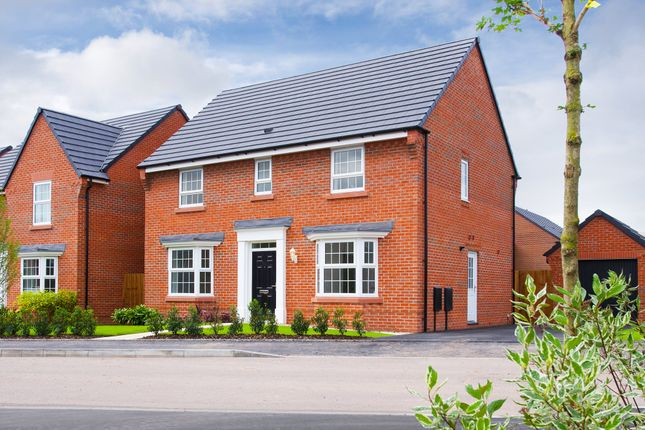"Thumbnail Detached house for sale in ""Bradgate"" at Croft Drive, Moreton, Wirral"