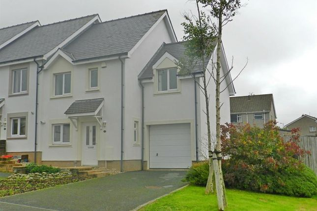Thumbnail Terraced house to rent in Delapoer Drive, Haverfordwest, Pembrokeshire
