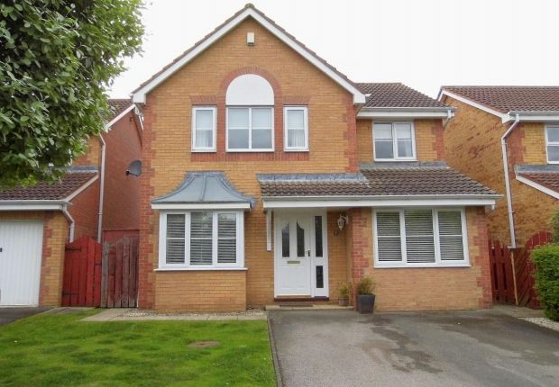 Thumbnail Detached house for sale in Bluebell Close, Etherley Dene, Bishop Auckland