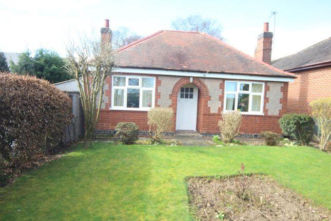 Thumbnail Detached bungalow for sale in Bosworth Road, Carlton, Nuneaton
