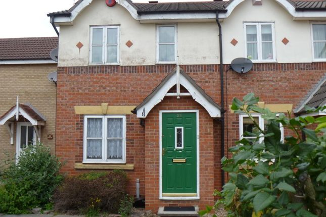 Thumbnail Terraced house to rent in Newham Close, Leicester