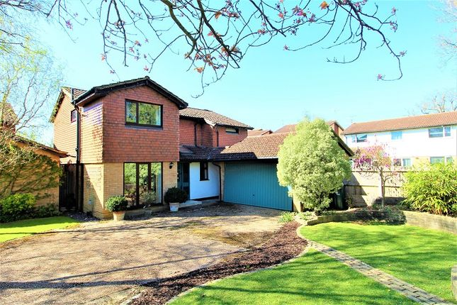Thumbnail Detached house for sale in Ruspers Keep, Ifield, Crawley, West Sussex.