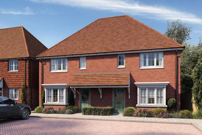 Semi-detached house for sale in Manton Crescent, Heartenoak Meadows, Heartenoak Road, Hawkhurst
