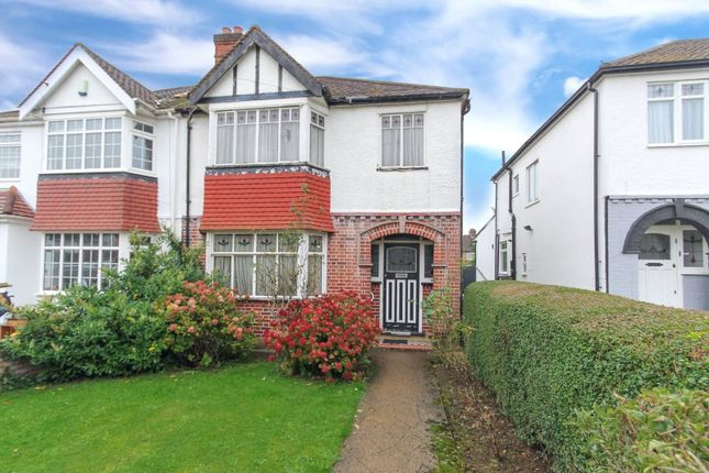 Thumbnail Semi-detached house to rent in Windsor Avenue, Edgware