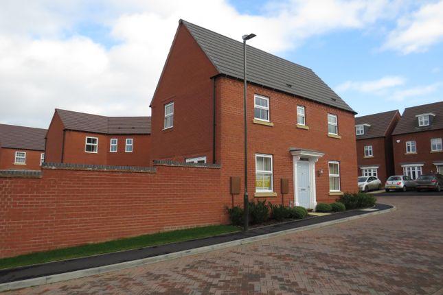 Thumbnail Detached house to rent in Ashton Close, Ashbourne