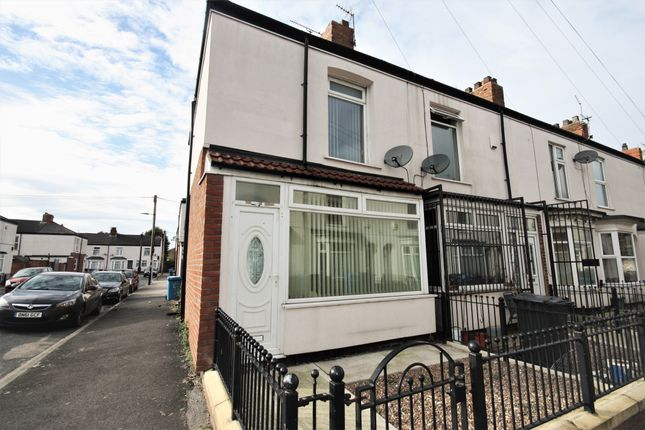 Thumbnail End terrace house for sale in Lois Crescent, Hull