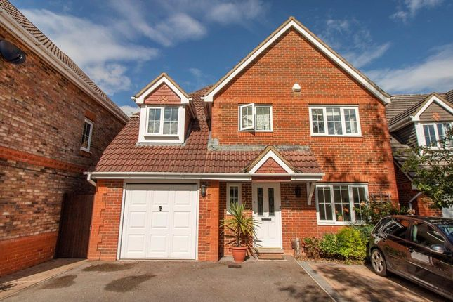 Thumbnail Detached house for sale in Trenchmead Gardens, Basingstoke