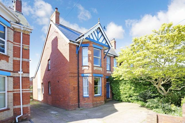 Thumbnail Semi-detached house for sale in Lyndhurst Road, Exmouth