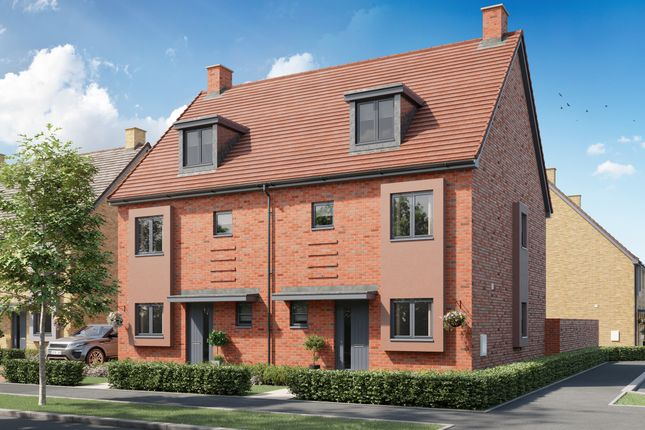 """4 bed semi-detached house for sale in """"The Eastwell"""" at Finn Farm Road, Kingsnorth, Ashford TN25"""