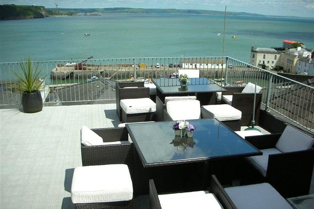 Thumbnail Maisonette for sale in Tiffany House, Tudor Square, Tenby, Pembrokeshire
