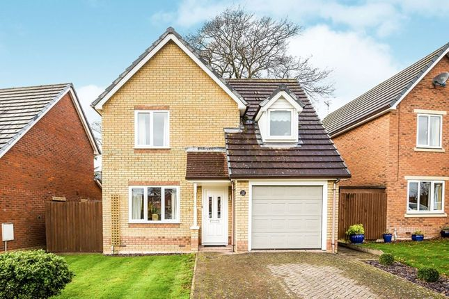 Thumbnail Detached house to rent in Barnfield Close, Oswestry