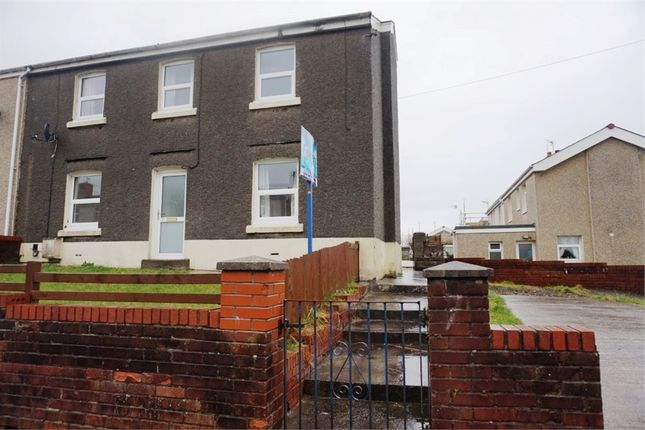 Thumbnail End terrace house to rent in Heol Newydd, Cefn Cribwr, Bridgend