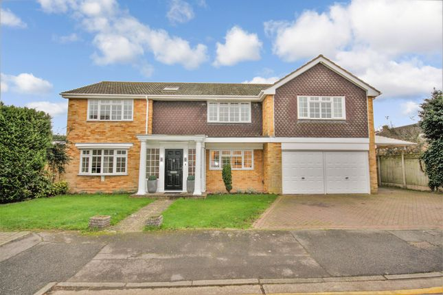 Thumbnail Detached house to rent in Bishops Court Gardens, Springfield, Chelmsford