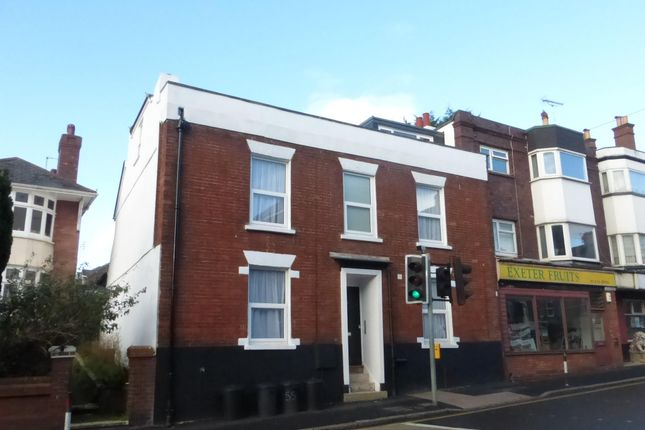 Thumbnail Flat to rent in Blackboy Road, Exeter