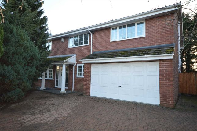 Thumbnail Detached house for sale in Summerfield, Bromborough, Wirral
