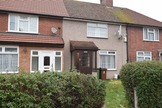 Thumbnail Terraced house to rent in Lodge Avenue, Becontree, Dagenham