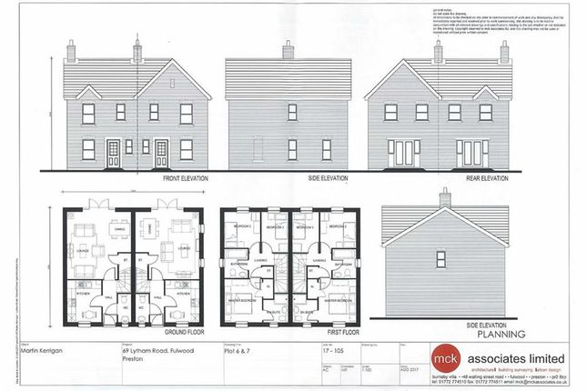 Thumbnail Semi-detached house for sale in Lytham Road, Fulwood, Preston