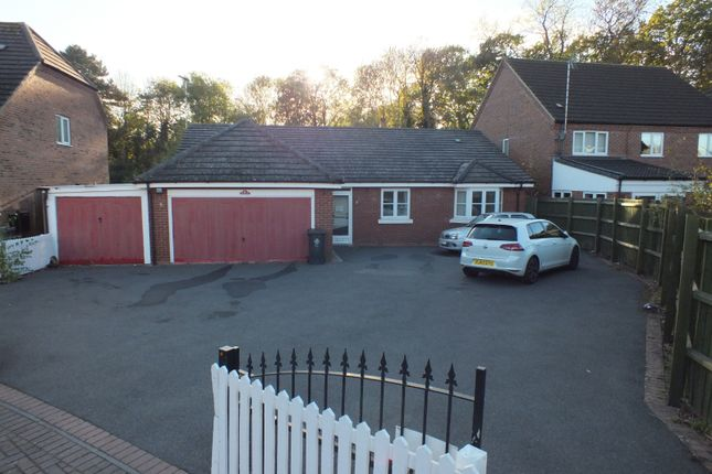 Thumbnail Detached bungalow for sale in Rockery Close, Humberstone, Leicester
